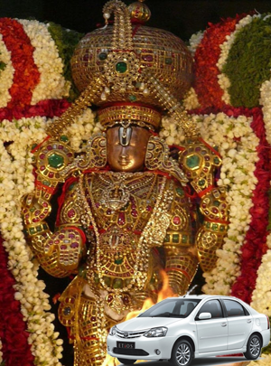 Balaji Tour Packages by Car