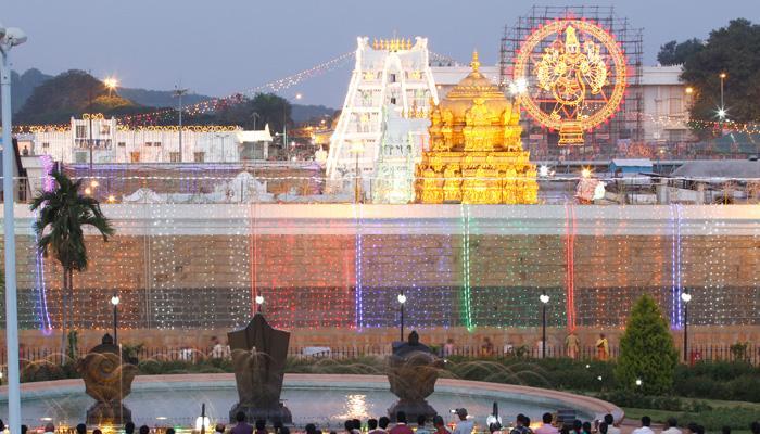Tirupati in August BTP